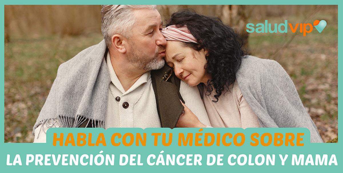 Prevención y tratamientos de cáncer de mama y colon